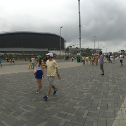 First Day at Olympic Park